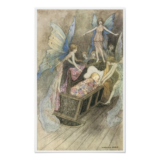 Book of Fairy Poetry, Warwick Goble Poster