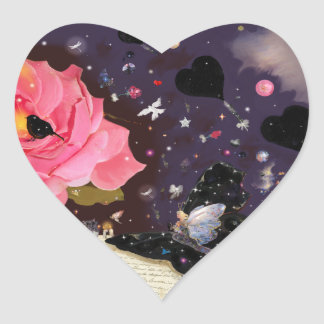 Book of Fairy Tales! Heart Stickers