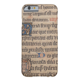 Book of Hours Medieval Latin Writing Barely There iPhone 6 Case