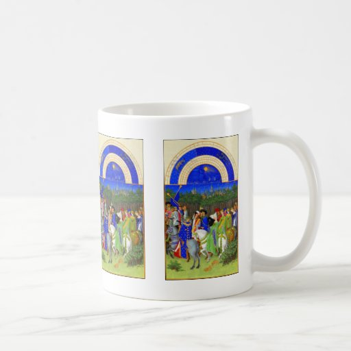 Book of Hours - Month of May Coffee Mug