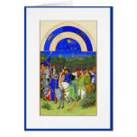 Book of Hours - Month of May Greeting Card