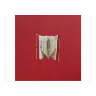 Book Of Love Heart Postcard