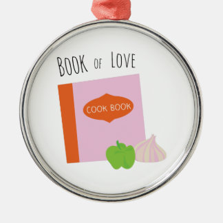 Book Of Love Christmas Ornament