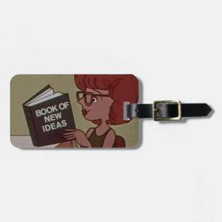 Book of New Ideas Luggage Tag
