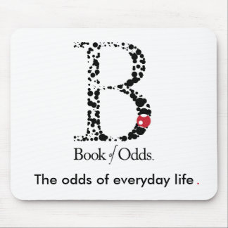 Book of Odds Mouse Pad
