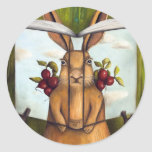 Book of Secrets 4-The Rabbit Story Round Sticker