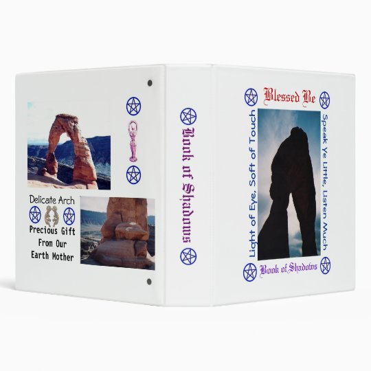 Book of Shadows 3 Ring Binder