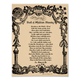 BOOK of SHADOWS BLESSING Poster