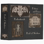Book of Shadows BOS Spooky Antique Collage Binder
