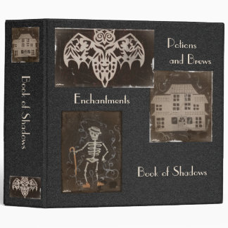 Book of Shadows BOS Spooky Antique Collage Binder