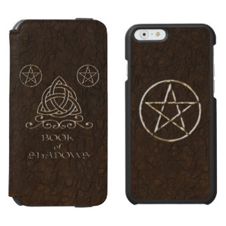 Book of Shadows Brown iPhone 6/6s Wallet Case