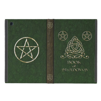 Book of Shadows Celtic Green Cover For iPad Mini
