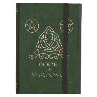 Book of Shadows Celtic Green iPad Air Cover