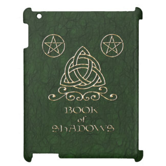 Book of Shadows Celtic Green iPad Case
