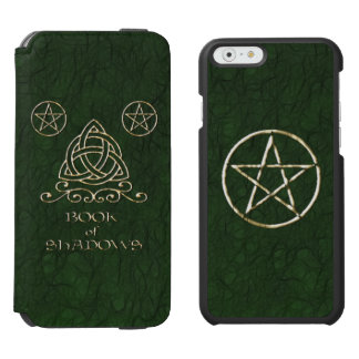 Book of Shadows Celtic Green iPhone 6/6s Wallet Case