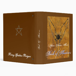 Book Of Shadows Earth Goddess Binder