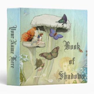 Book Of Shadows Faerie Mushroom 3 Ring Binders