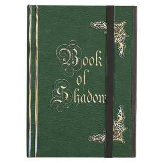 Book of Shadows Green Cover For iPad Air