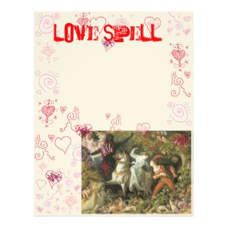 Book of Shadows Love Spell Page
