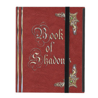 Book of Shadows Red iPad Cases