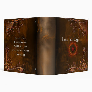 "Book of Shadows Rustic CUSTOMIZE 2"" Binder"