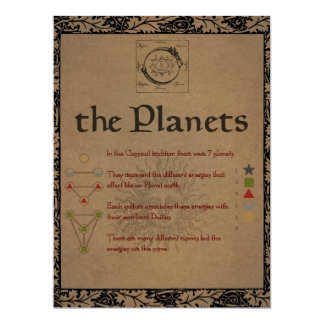 Book of Shadows THE PLANETS - LUNA Card
