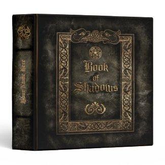Book of Shadows Vinyl Binder
