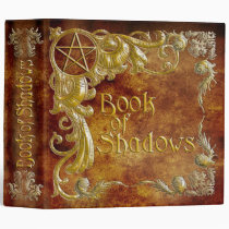 Book Of Shadows with Gold  Highlights #1 Binder