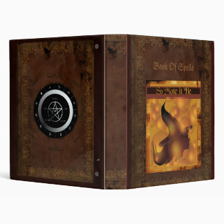 Book Of Spells Binder