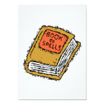 Book Of Spells Personalized Invitations