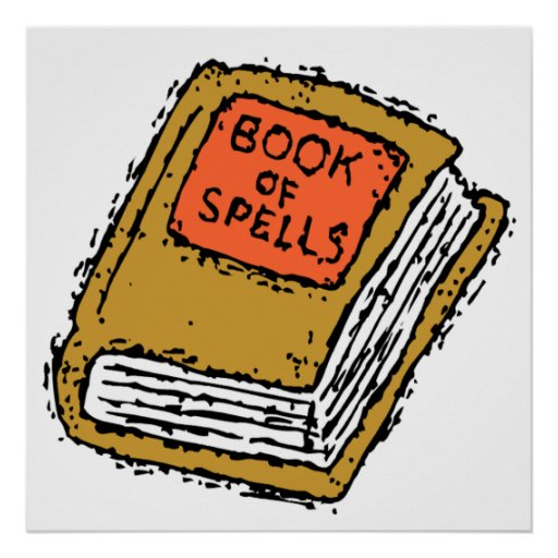 Book Of Spells Print