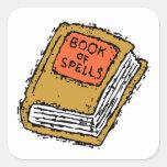 Book Of Spells Stickers