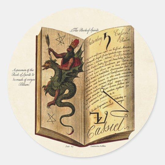 Book of Spirits Sticker