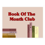 Book Of The Month Club Postcards
