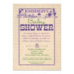 "Book Party Baby Shower Invitation 5"" X 7"" Invitation Card"