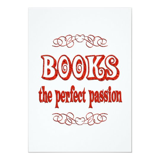 Book Passion Card