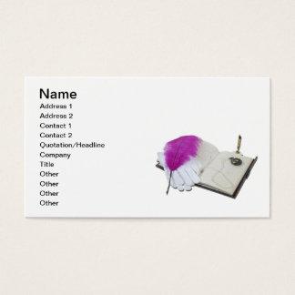 Book Pen Gloves Watch Business Card