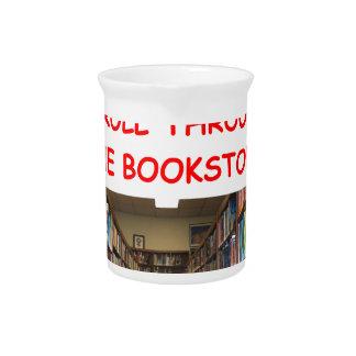 BOOK BEVERAGE PITCHERS