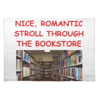 BOOK CLOTH PLACE MAT