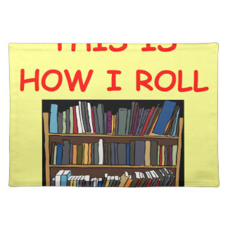 BOOK CLOTH PLACEMAT