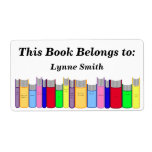 Book Plate Personalized Shipping Labels
