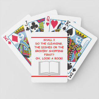 BOOK BICYCLE PLAYING CARDS