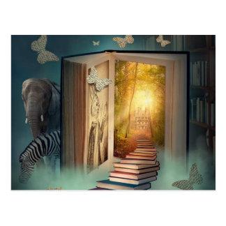 book postcard
