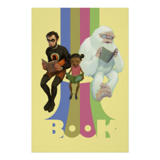 BOOK! POSTER