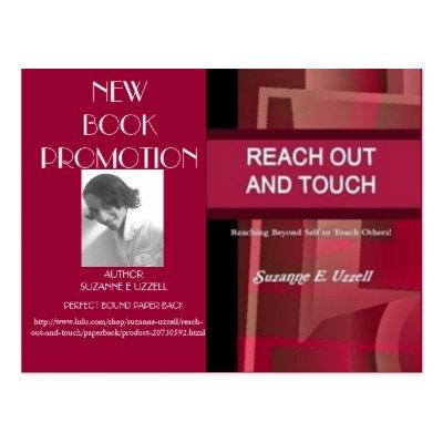 book promotion postcard template zazzle com