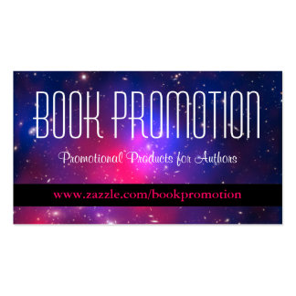 Book Promotion Double-Sided Standard Business Cards (Pack Of 100)