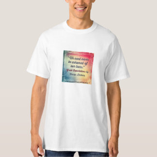 Book quote Great Expectations by Charles Dickens T-Shirt