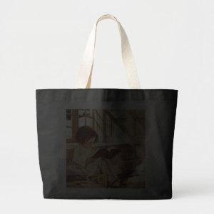 Book Reader by Jessie Wilcox Smith Fine Art Bag bag