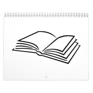 Book reading calendar