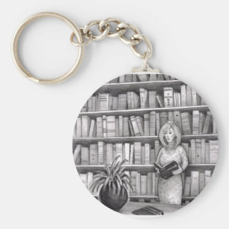 Book Reading Keychains